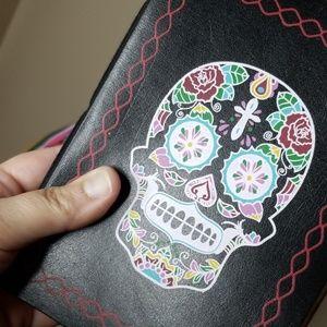 Other - 💀Sugar Skull Leather Bound Journals